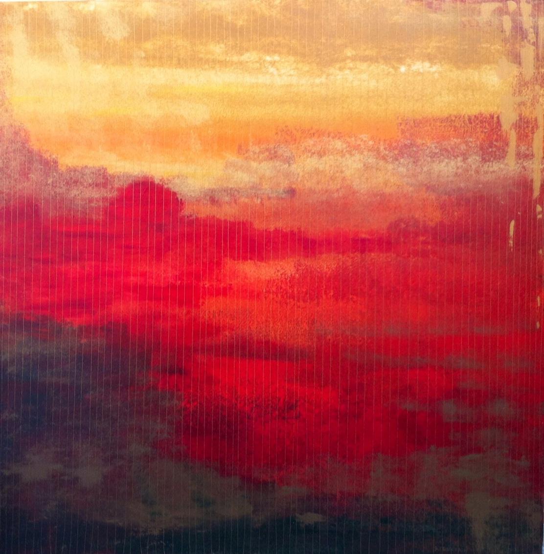 """opere moderne quadri - serie OLTRE - """"COLLE"""""""