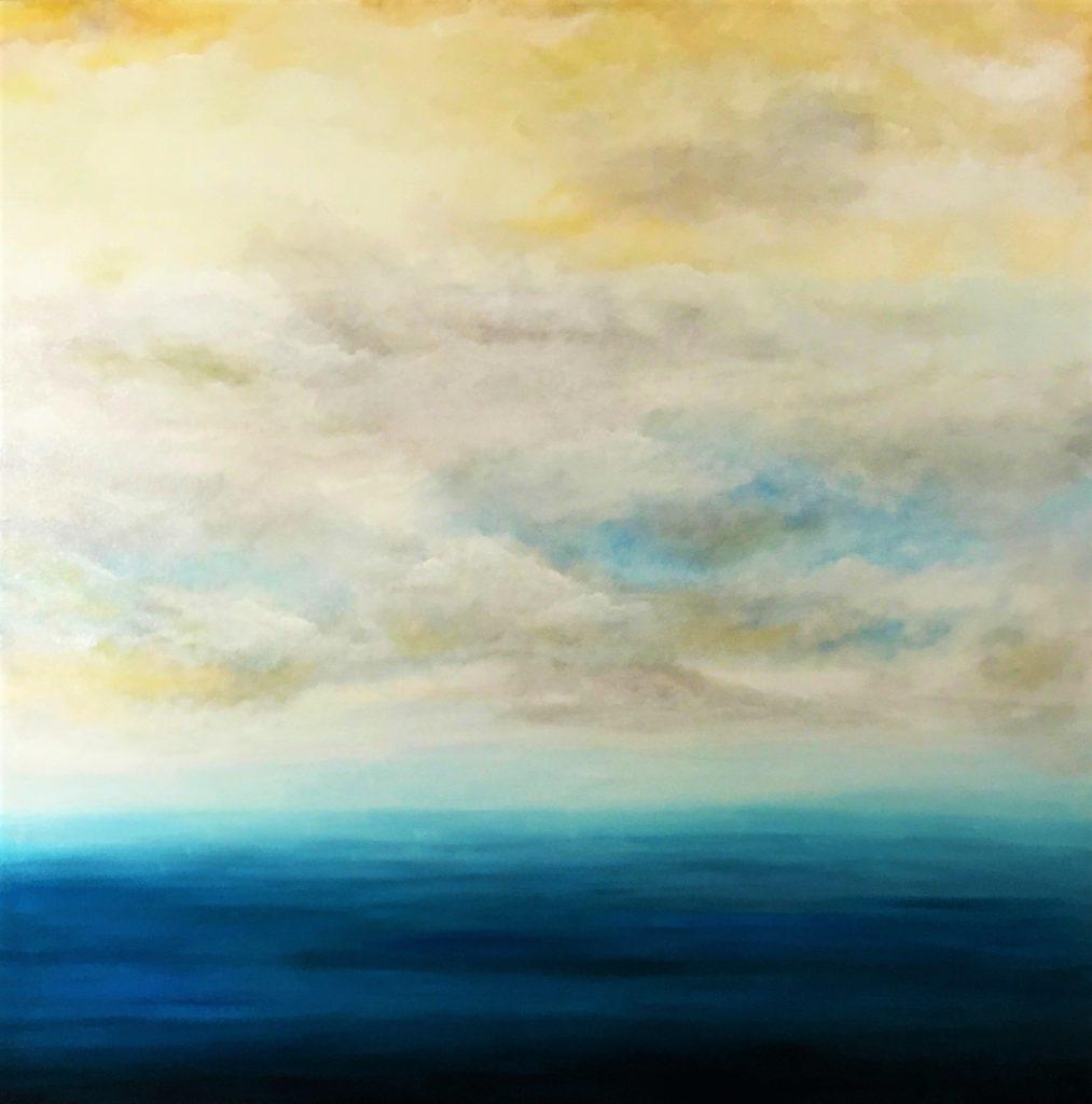 quadri con paesaggi di mare