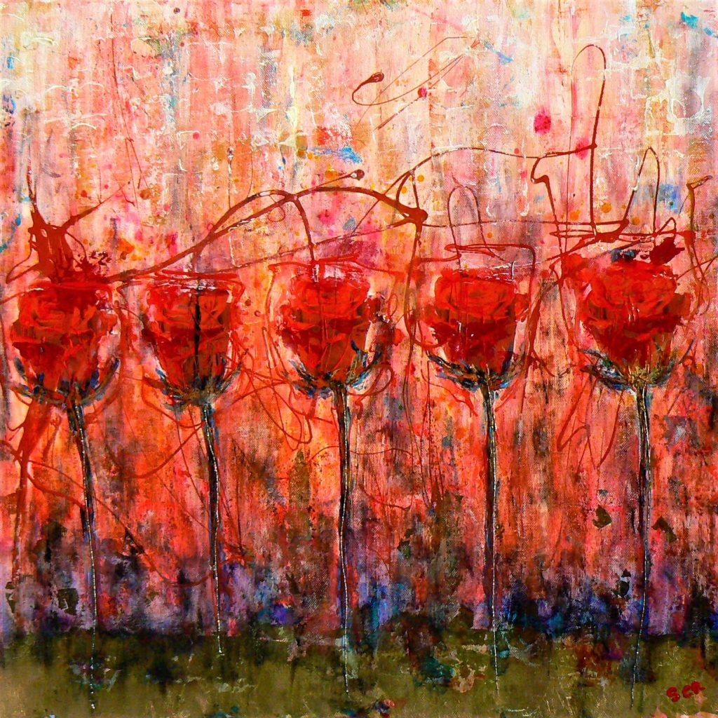 quadri di rose