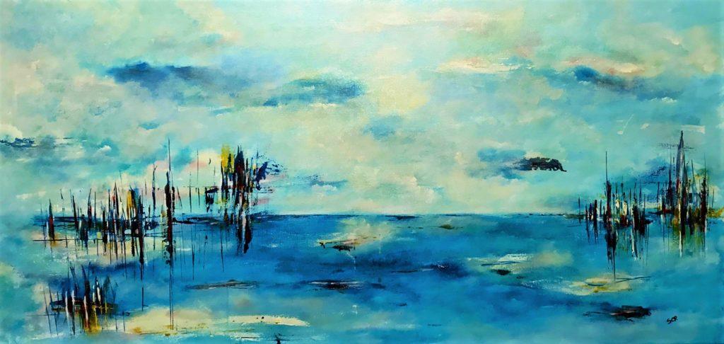 quadri su tela mare